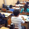 そろばん塾ピコ鶴山台校の授業がありました