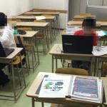 プログラミング教室4回目、音と光のプログラミング