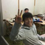 信太中学校1学期期末テスト1日目
