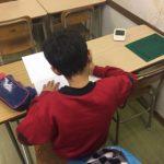 入塾テストが始まりました