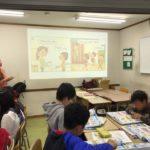 ECCジュニアの授業が始まりました
